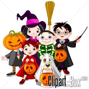 Halloween Clip Art Characters1 300×300