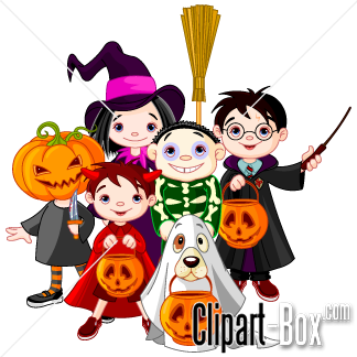 Halloween Clip Art Characters1