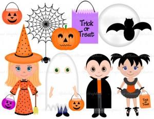 Halloween Clip Art Costumes 300×232