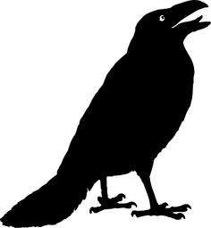 Halloween Clip Art Crows3