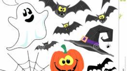 Halloween Clip Art Decorations 768×722