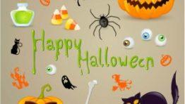 Halloween Clip Art Decorations4 300×300