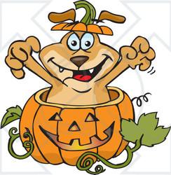 Halloween Clip Art Dog4