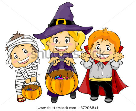 Halloween Clip Art For Children1