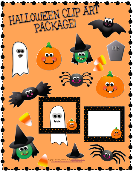 Halloween Clip Art For Teachers Free1