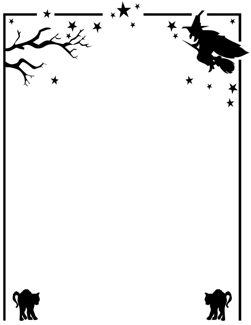 Halloween Clip Art Free Borders
