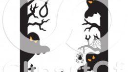 Halloween Clip Art Ghost Border5 300×284