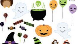 Halloween Clip Art Invitation2 300×238