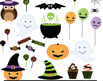 Halloween Clip Art Invitation6