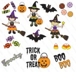 Halloween Clip Art No White Background 150×142