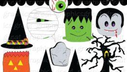 Halloween Clip Art Printable 768×614