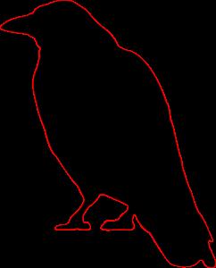 Halloween Clip Art Raven4 242×300
