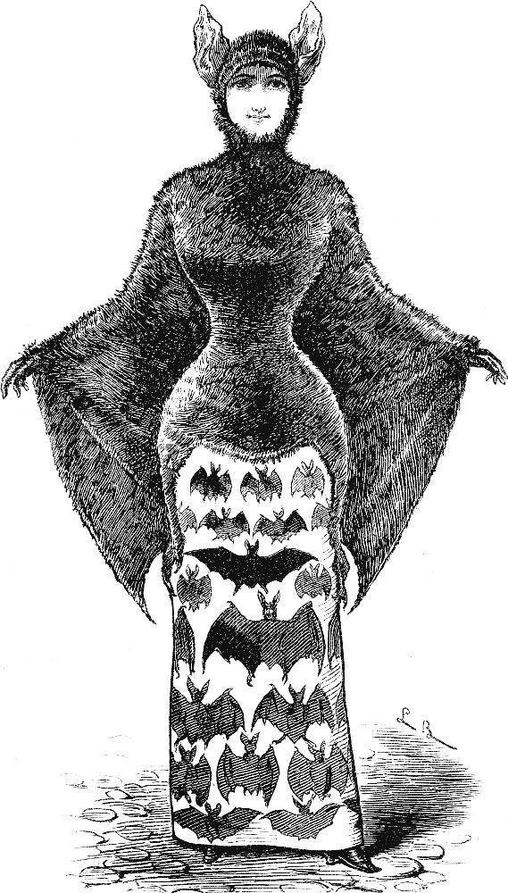 Halloween Clip Art Victorian2