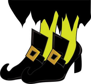 Halloween Clip Art Witches Shoes