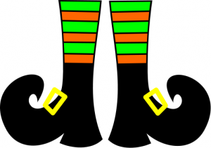 Halloween Clip Art Witches Shoes2 300×210