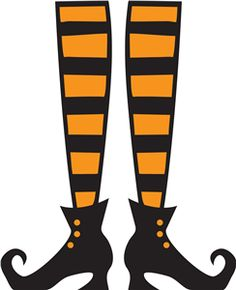Halloween Clip Art Witches Shoes4