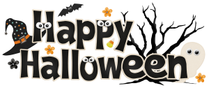 Halloween Clip Art Word1 300×126