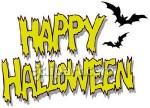 Halloween Clip Art Words2 150×108