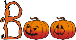 Halloween Clip Art Words2 150×79