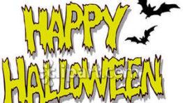 Halloween Clip Art Words2