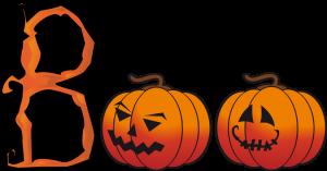 Halloween Clip Art Words2 300×157
