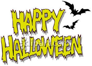 Halloween Clip Art Words2
