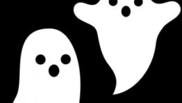 Halloween Clipart Ghosts 300×264