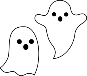 Halloween Clipart Ghosts 300×264