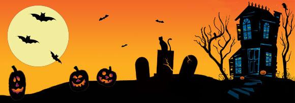 Halloween Clipart Headers