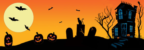 Halloween Clipart Headers4