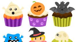 Halloween Cupcake Clipart2