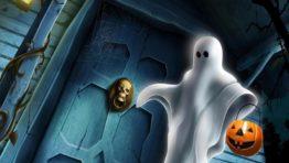 Halloween Ghost Background4
