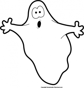 Halloween Ghost Clipart 287×300