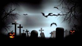 Halloween Graveyard Wallpaper 300×169
