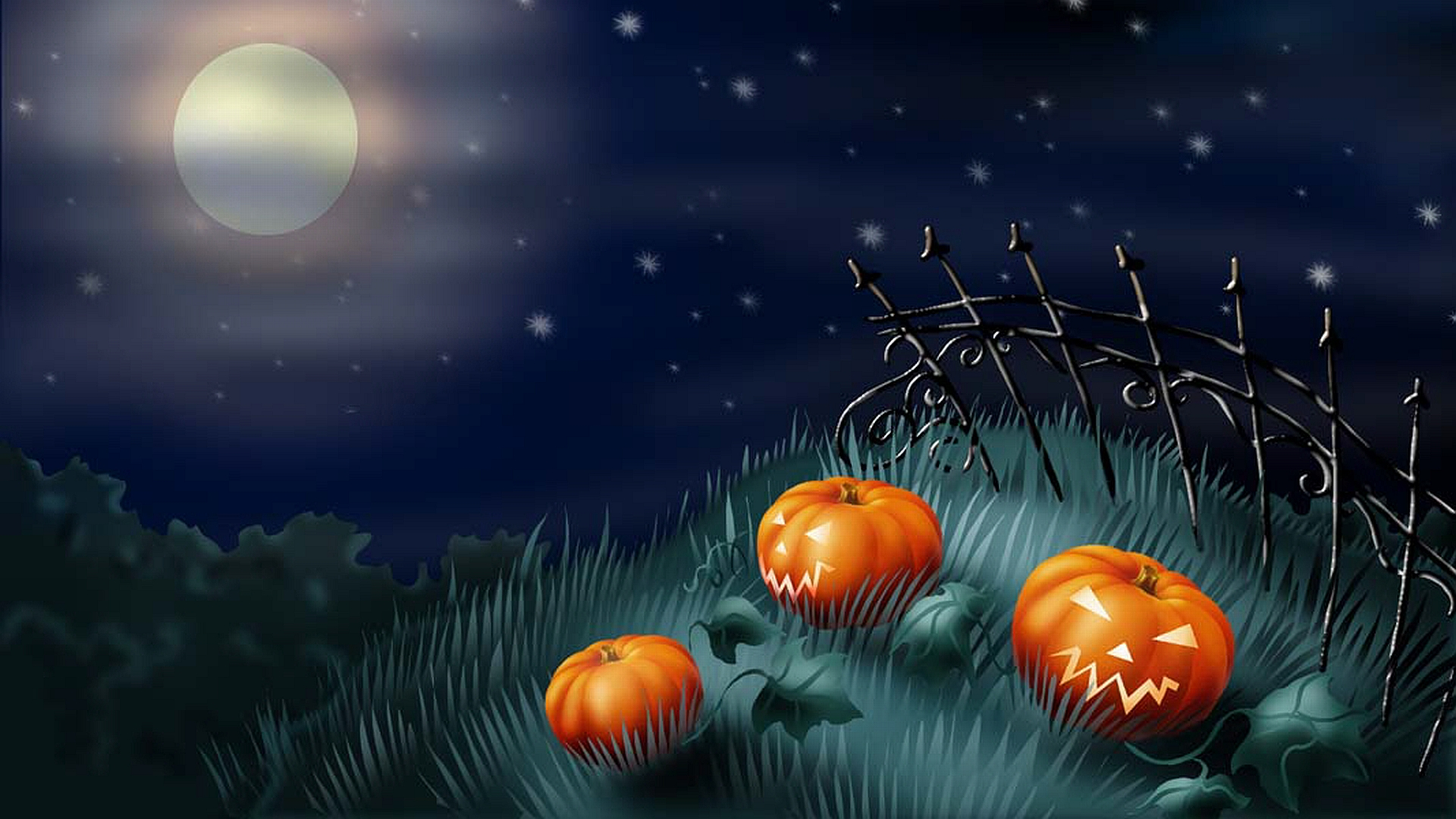 Halloween Graveyard Wallpaper4