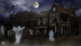 Halloween Haunted House Wallpaper3 300×169
