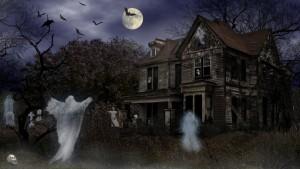 Halloween Haunted House Wallpaper3 300×169