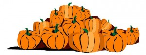 Halloween Pumpkin Patch Clip Art1 300×113