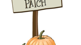 Halloween Pumpkin Patch Clip Art6