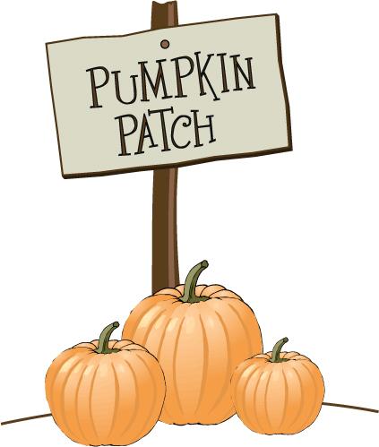 Halloween Pumpkin Patch Clip Art6