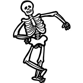 Halloween Skeleton Clipart