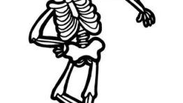 Halloween Skeleton Clipart3
