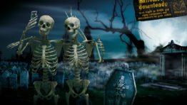 Halloween Skeleton Wallpaper