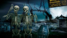 Halloween Skeleton Wallpaper 768×497