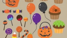 Halloween Treats Clip Art4 300×289