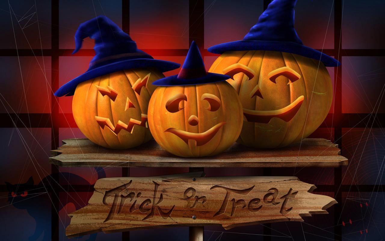 Halloween Wallpaper 1280 X 800