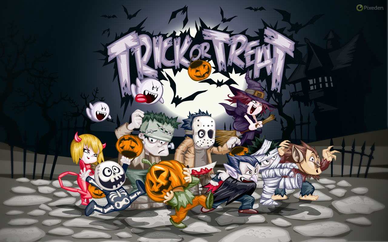 Halloween Wallpaper 1280 X 8003