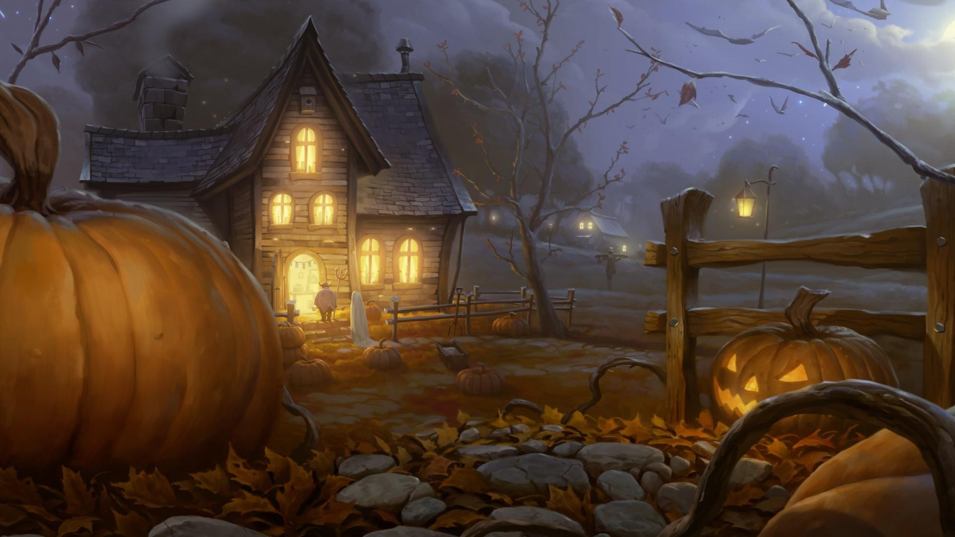 Halloween Wallpaper 1920×1080