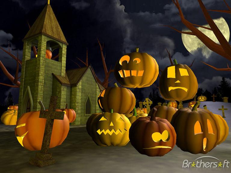 Halloween Wallpaper And Screensavers 3d1 768×576