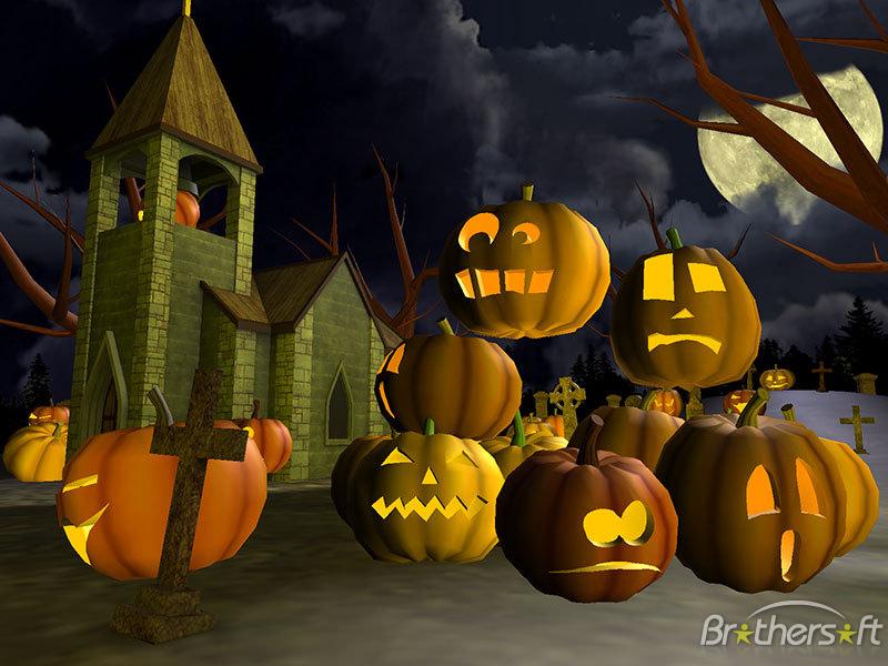 Halloween Wallpaper And Screensavers 3d1